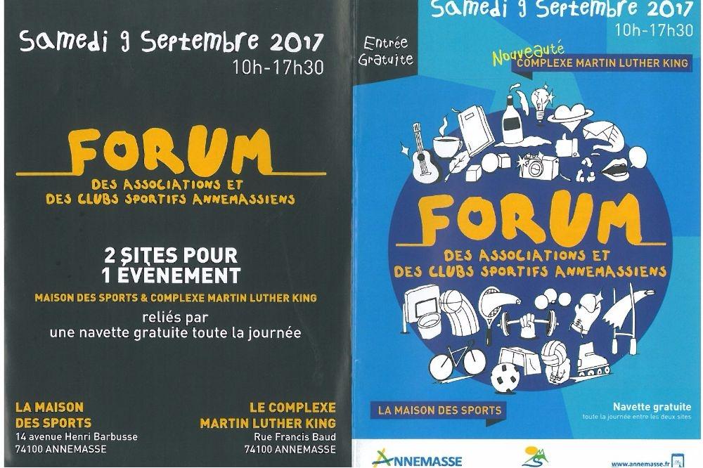 Forum des sports du 9 septembre 2017