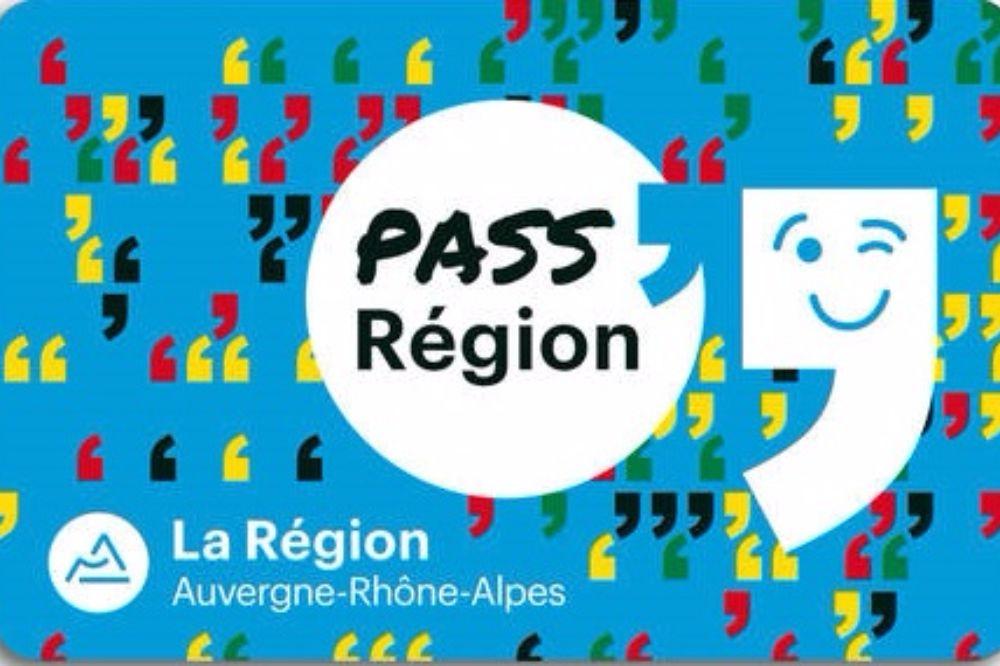 NOUVEAU - Carte PASS'Région
