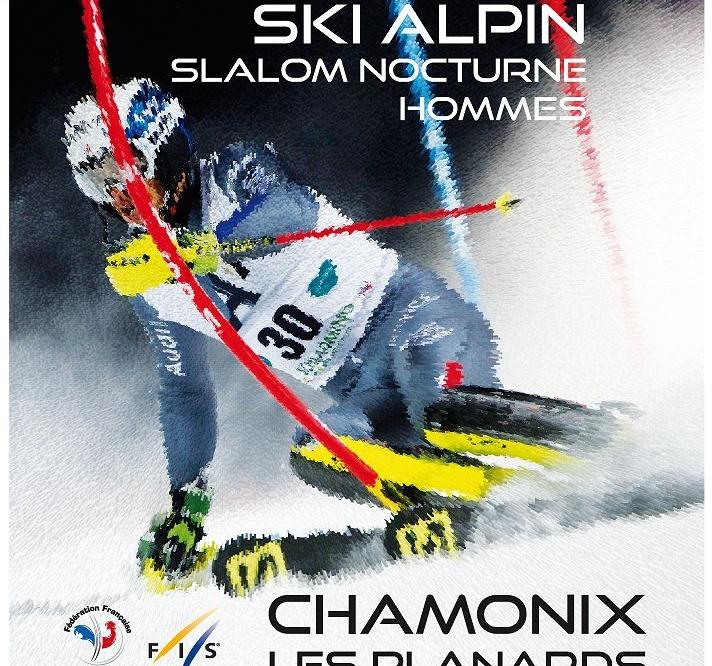 Slalom Nocturne Hommes à Chamonix le 25 & 26 janvier 2018