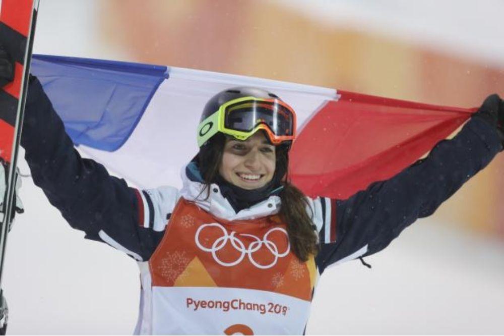Perrine Laffont Championne Olympique