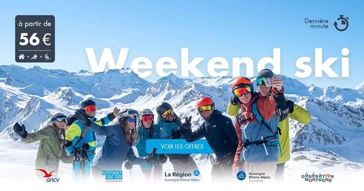 Opération  « 1000 Jeunes au ski en Auvergne-Rhône-Alpes »