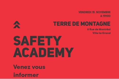 Safety Academy - Terre de Montagne