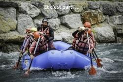 les moniteurs en rafting