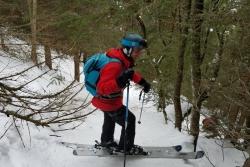 Sortie Hors piste à Chamonix le 09-02-2019