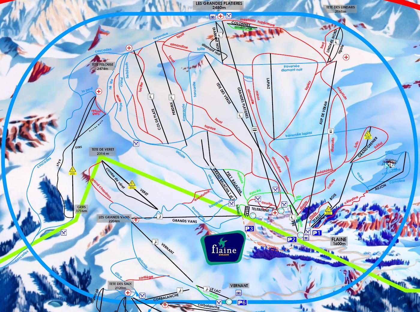 Calendrier des sorties de la saison 2018-2019 - Ski Club Annemassien